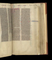The Start Of The New Testament, In A Bible